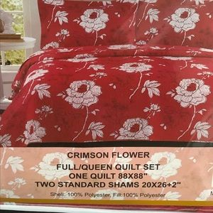 Other - BNWT Full/ Queen Quilt set